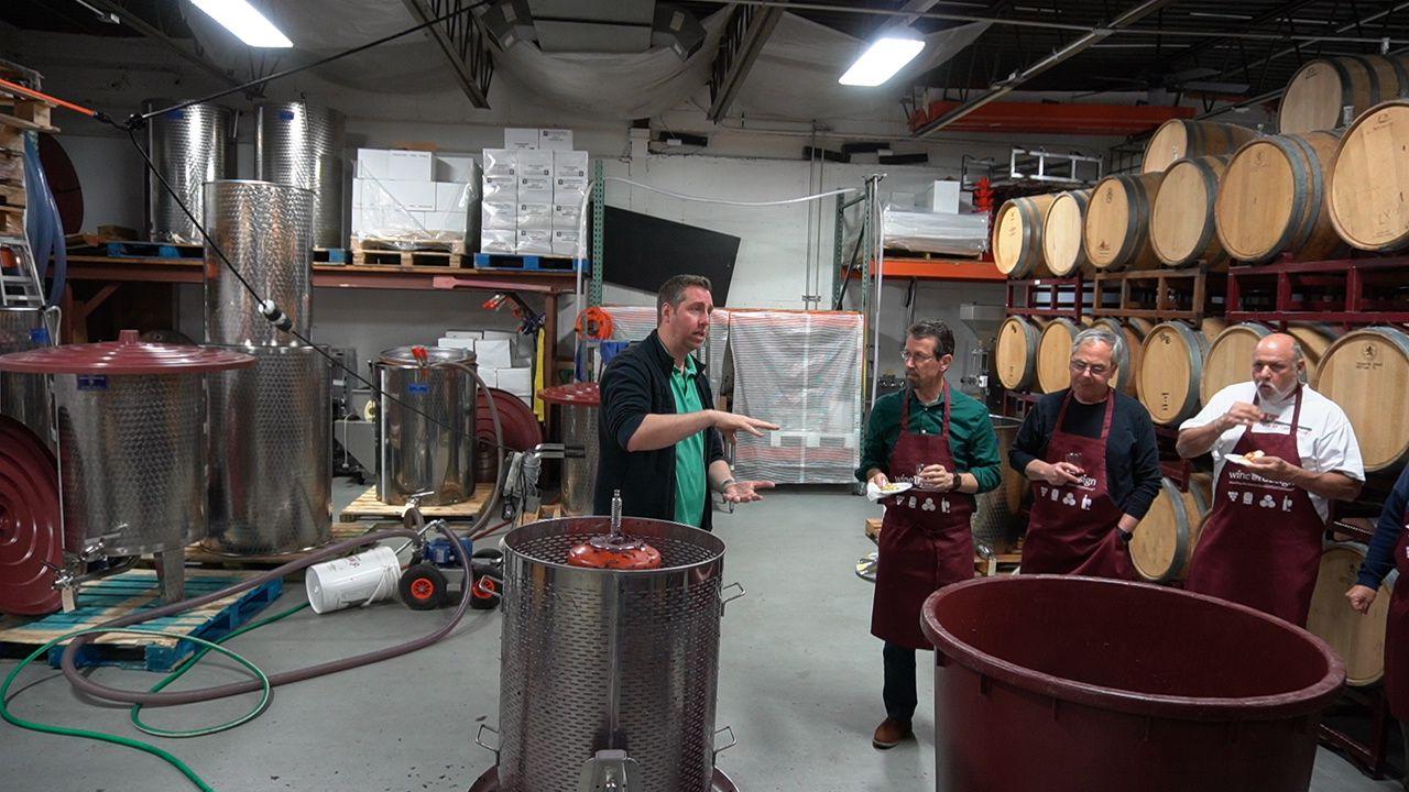 barrel tasting