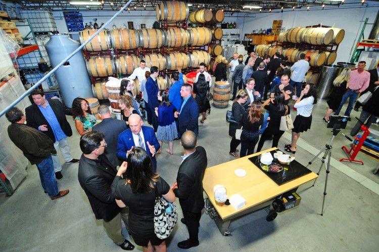 corporate wine event